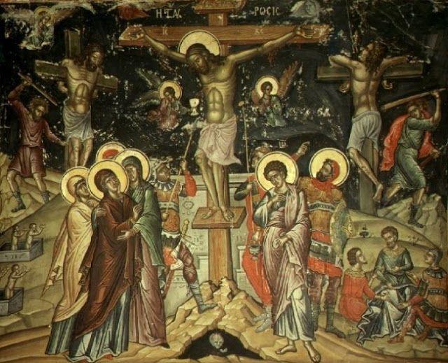Παναγία Ιεροσολυμίτισσα: Μεγάλη Πέμπτη βράδυ - Ὁ Χριστὸς ἔπαθε ὑπὲρ ἡμῶν κα...
