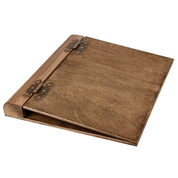 Aldecor Wooden A4 4-ring Binder: Amazon.co.uk