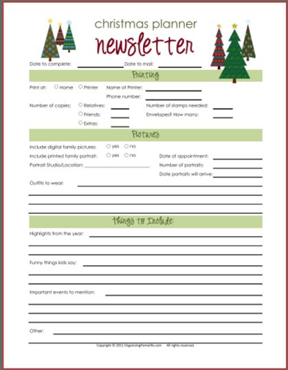 Best 25+ Christmas newsletter ideas on Pinterest Christmas - holiday newsletter template