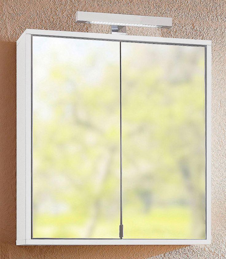 LED-Aufbauleuchte, Held Möbel, »Seattle« Jetzt bestellen unter: https://moebel.ladendirekt.de/bad/badmoebel/spiegelschraenke/?uid=00784d54-9a2f-5bf4-aafe-a2832131c27c&utm_source=pinterest&utm_medium=pin&utm_campaign=boards #spiegelschraenke #bad #badmoebel #einbauleuchte