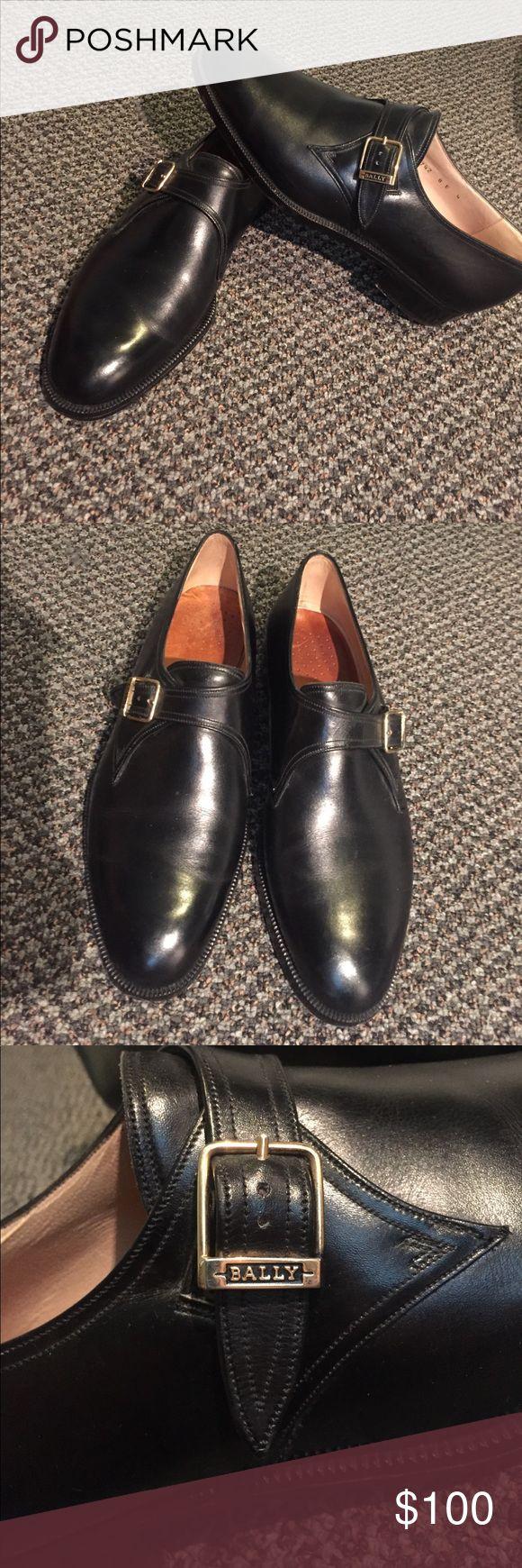 Black balley France prestige men's dress shoes In great shape! Black balley France prestige men's dress shoes . Bally Shoes