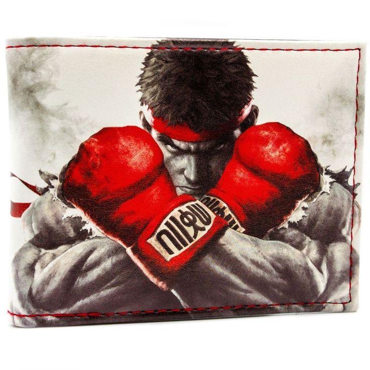 cool Wallet Street Fighter Ryu Akuma Ken Master Chun-Li Guile  -