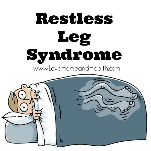 """I've been plagued with Restless Leg Syndrome; also known as Restless Legs, RLS and """"Twitchy Legs"""" for years. I've currently had fantastic results with Zinc!"""