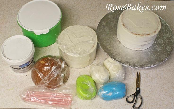 Space Ship Cake Recipe Uk