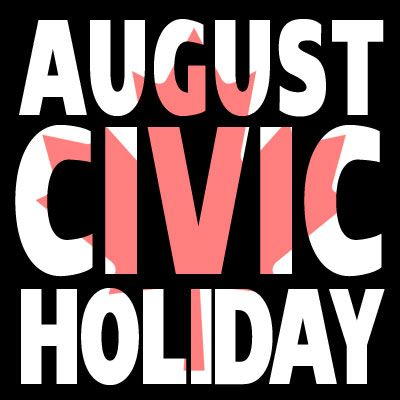 """The first Monday of August is a general holiday for employees in many parts of Canada. It is a public (statutory) holiday in some provinces and territories, but in others it has another legal status. It is often called the """"August Holiday"""", """"Civic Holiday"""", """"Simcoe Day"""" (around Ontario), """"Provincial Day"""", """"Heritage Day"""", """"Natal Day"""", or other local names."""