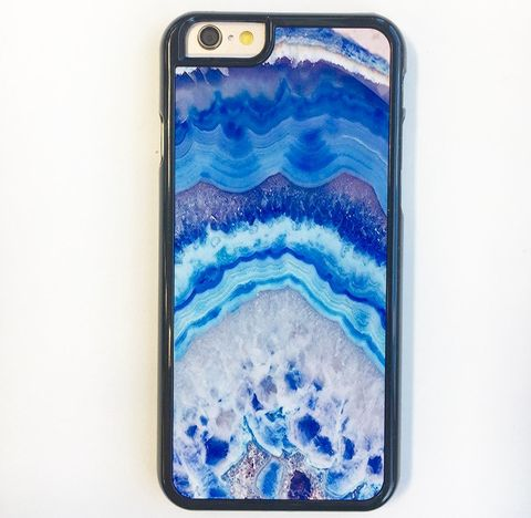 Blue Crystal iPhone 6/6s Plus Case