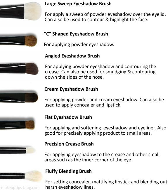Eyeshadow Brushes: When it comes to eye brushes the amount of different bristles, shapes, sizes and densities are endless. I love using diff...
