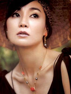"I couldn't post Tony Leung without including the beautiful Maggie Cheung. Loved them in ""In the mood for love""."