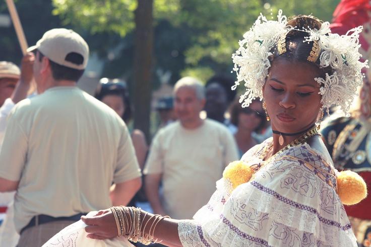 Panama, Montréal, danse traditionnelle, Parc Jean Drapeau