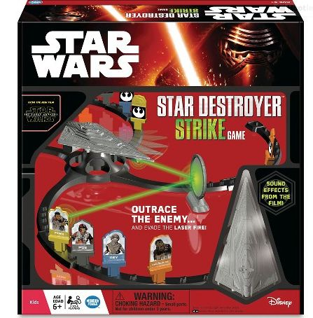 Star Destroyer Strike Game and Star Wars Galaxy Hunt Wonder Forge Games Review