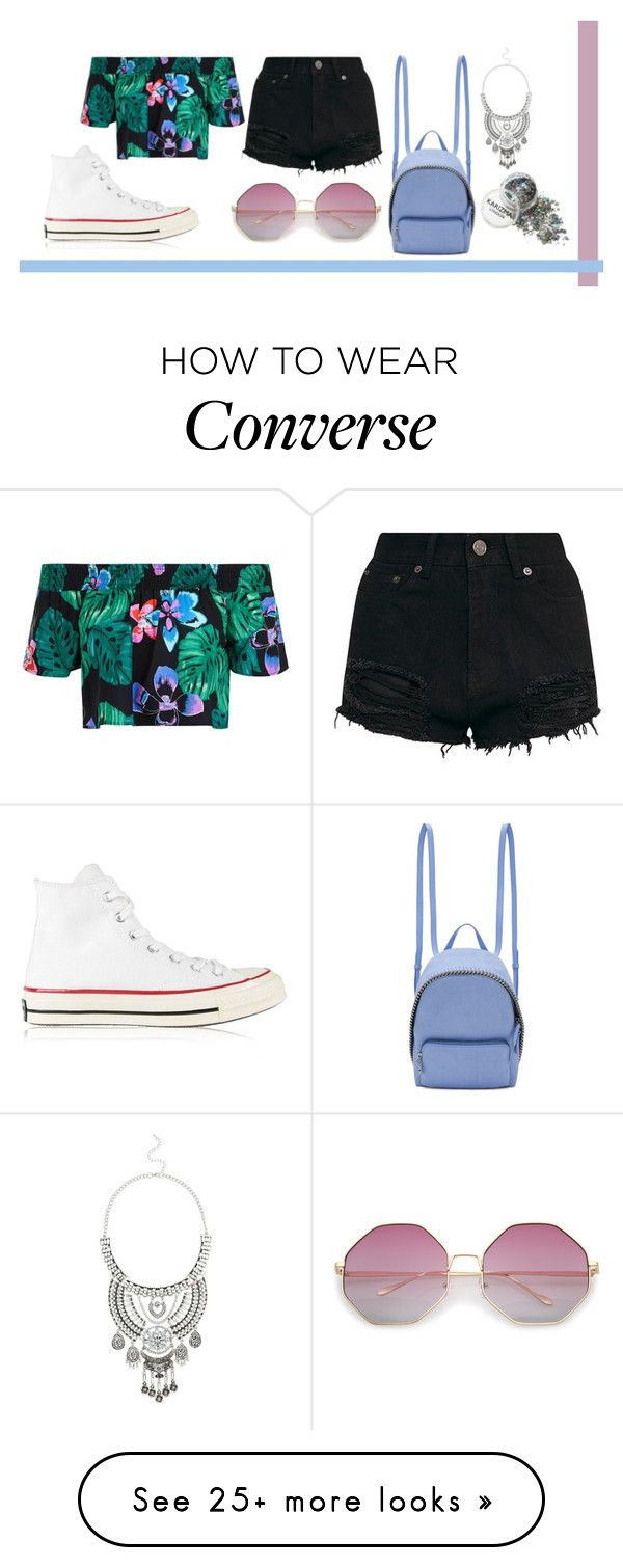 """Unbenannt #331"" by romi-kella on Polyvore featuring Converse, New Look, STELLA McCARTNEY and Miss Selfridge"