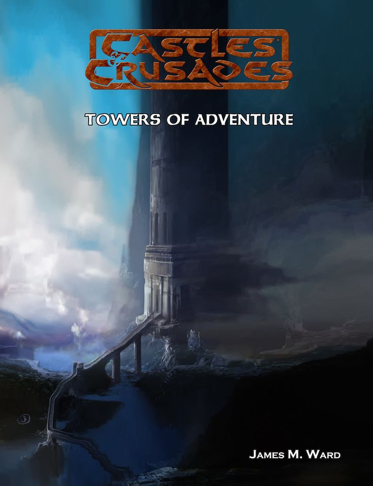 Morning Crusaders!  A lot going on in the Dens today.  Biggest news is that we are having a 50% off all ADVENTURES in our store, from print, digital and print and digital combos.  Save tons on the combos folks, that's a great deal.  Use the promo code ADV50 at checkout!  Also, we have released the classic Towers of Adventure by James M. Ward in our store now.  You can get it for this week only at 50% off too!  Find all this and more in the store:  http://bit.ly/50offadv