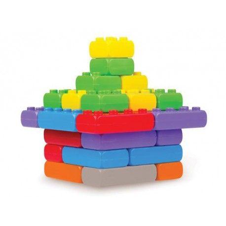 Kolejna Propozycja od Marioinex, polskiego producenta zabawek.  Klocki Konstrukcyjne Cegły Junior 30 elementów - Wymiary: 11,5 x 5,7 cm dla Dzieci już od 1 roczku.  Ile klocków znawiera zestaw: Sprawdźcie sami:)  #klocki #konstrukcyjne #junior #cegly #marioinex #sklep #niczchin #zabawki #krakow