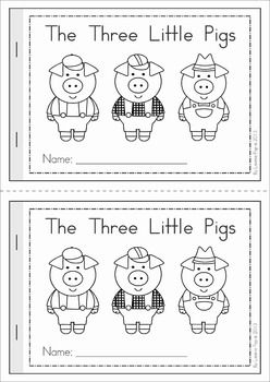 The Three Little Pigs emergent reader