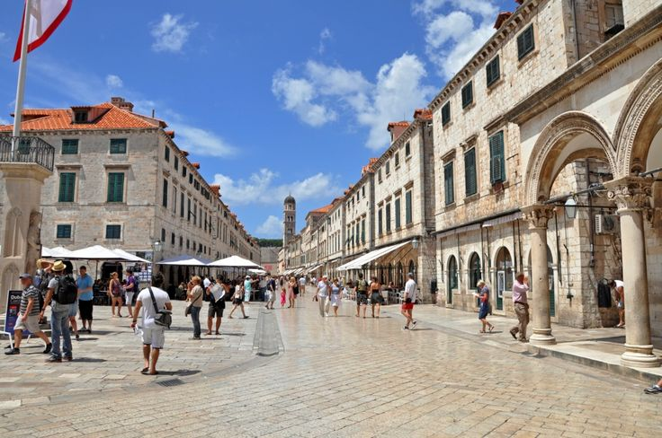 A Walk Through The Old Dubrovnik City Streets