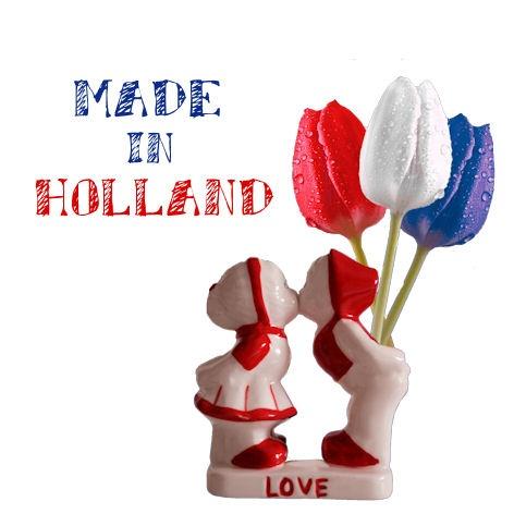 Made in Holland | Stickers www.hipenstipkaarten.nl
