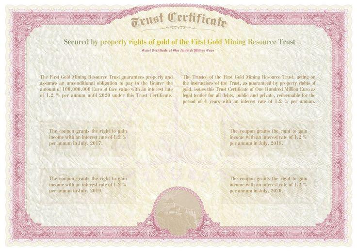 Разработан и передан заказчику новый бланк сертификата.