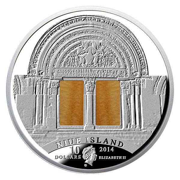 Niue 2014 10$ Romanesque Art The Art that Changed the World 3 Oz Proof Silver coin   The Art That Changed The World series 3 oz of .999 fine silver Only 555 pieces!