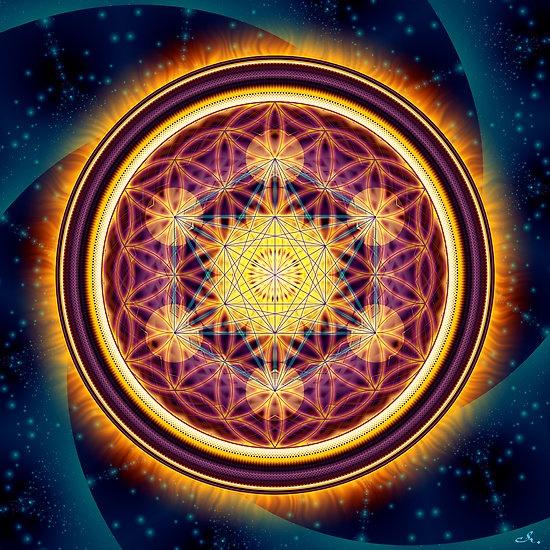 Stargate.  By Aurellian Pumayana Floret. Available at www.luminaya.com  Sacred geometry. Flower of Life. Mandala. Ascension.
