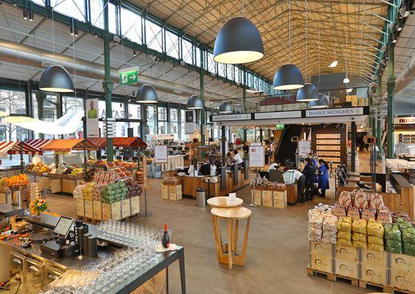 Die italienische Feinkostkette Eataly eröffnete in München ihre erste Deutschland-Filiale. In der Schrannenhalle direkt neben dem Viktualienmarkt geht es um Einkaufen, Essen und Lernen.