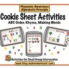 Cookie Sheet Activities Volume One contains three early literacy activities designed to be used on small cookie sheets.  These activities are perfe...