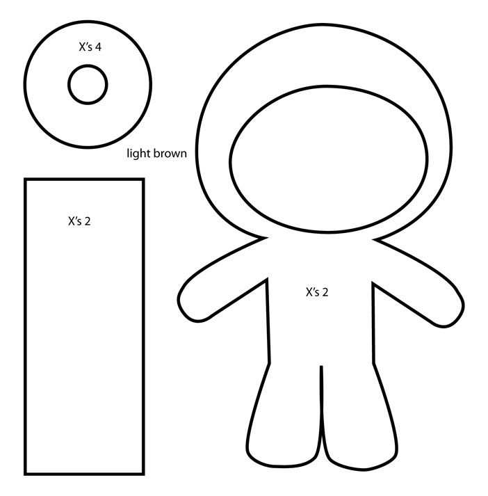 donutella coloring pages tokidoki donutella felt plush template with bubs b4astudios - Tokidoki Donutella Coloring Pages