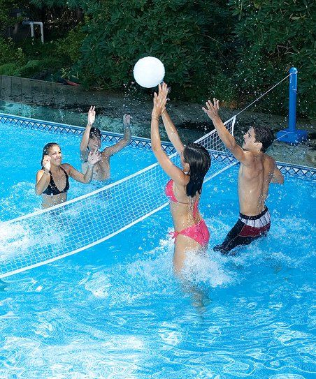 Swimline Cross-Pool Volleyball Game Set | zulily