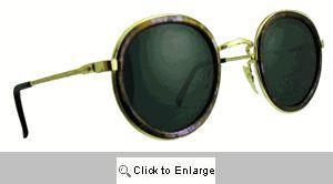 LP Round Metal Sunglasses - 459 Lavender