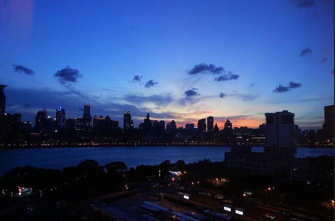 Shanghai Bund sunset 上海外滩落日