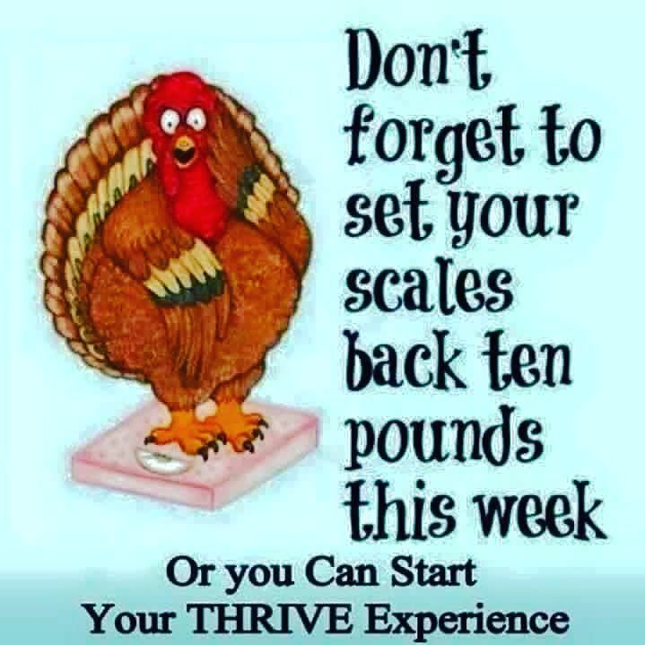 Thrive can help you avoid that holiday weight gain! Contact me today for your free trial or discount! #AppetiteControl #Energy #WeightManagement #Nutrition #StressRelief #Twitter
