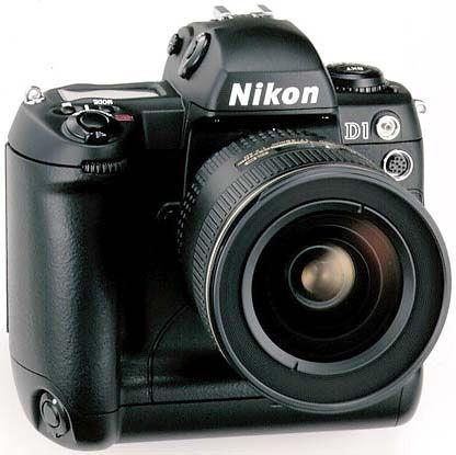 The first Pro Nikon Dslr to be popular  the Nikon D1