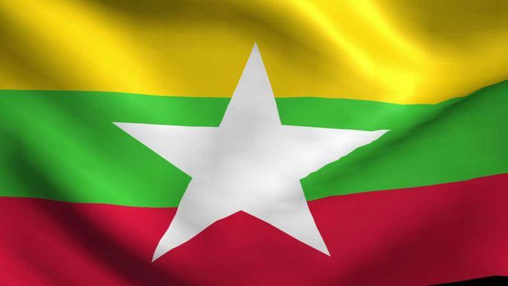 2015 Flag of Myanmar