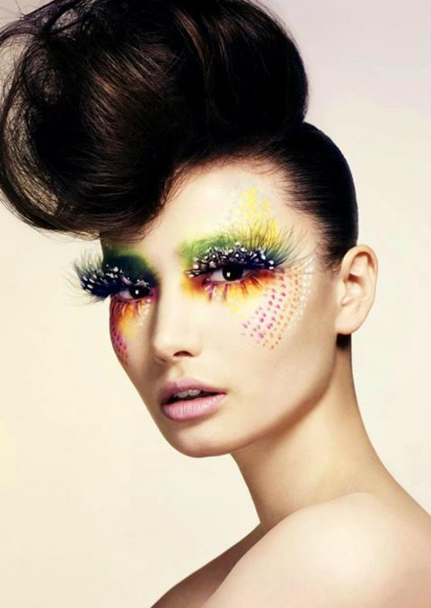 high fashion blush looks   high fashion make up this is what you see models or actresses wearing ...