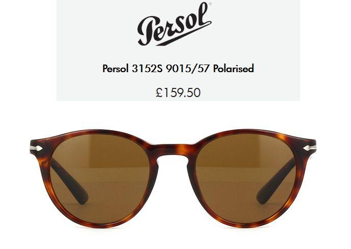 e2288a1e2b Persol 3152S 9015 57 Polarised £159.50