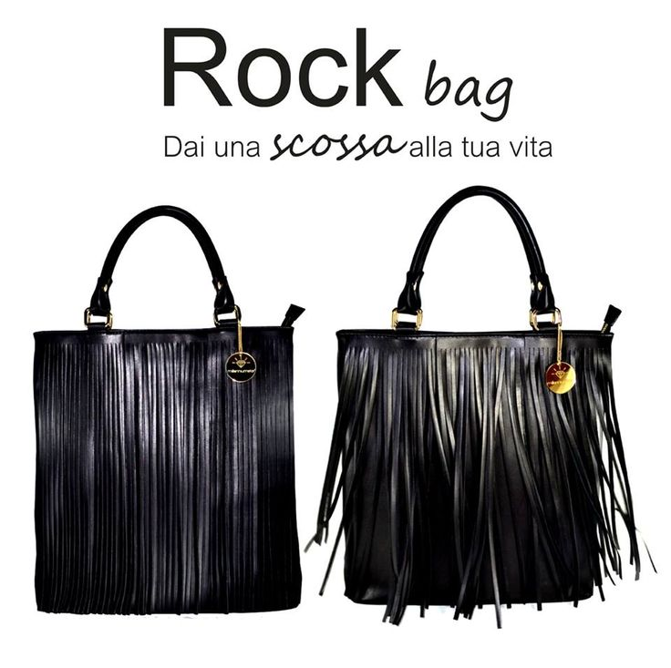Ci pensa Rock bag a dare una scossa alla tua vita :) http://www.millenniumstar.it/borse-da-donna/1230-rock-borsa-in-pelle-nera-con-frange.html