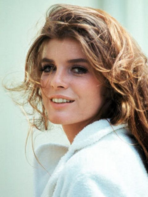 Katharine Ross: she is perhaps best known for her role as Elaine Robinson in the 1967 film The Graduate, opposite Dustin Hoffman, which won her an Academy Award nomination for Best Supporting Actress. But my personal favorite is Shenandoah, in which she starred with the wonderful Jimmy Stewart. - Ronni