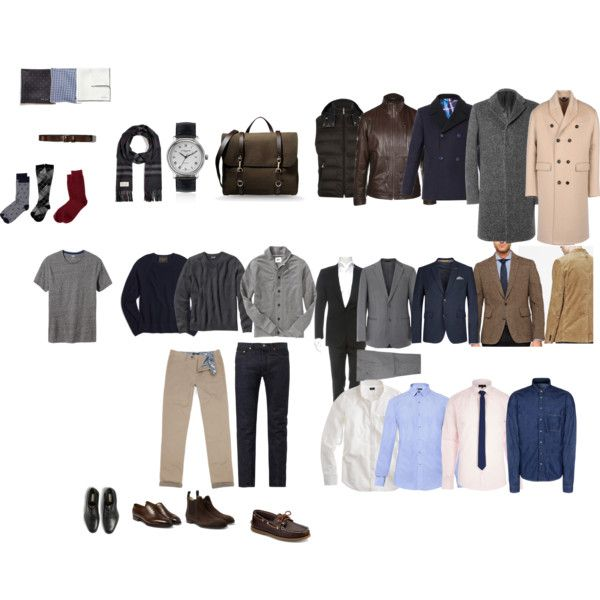 men's business casual capsule wardrobe fall/winter