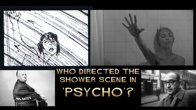 Who Directed the Psycho Shower Scene?: Hitchcock's Film & Saul Bass' Storyboards Side by Side
