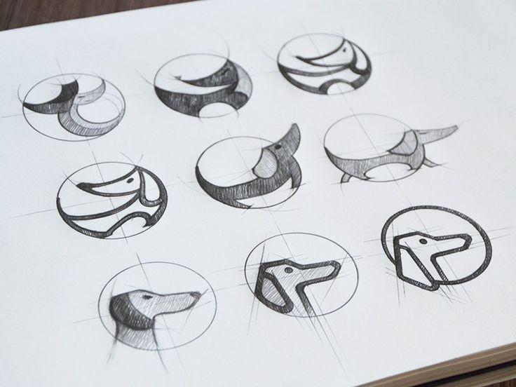 Case study: Tubik Studio. Designing logo.