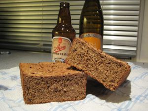 Knekkebrød og brød med ølkorn (mesk)