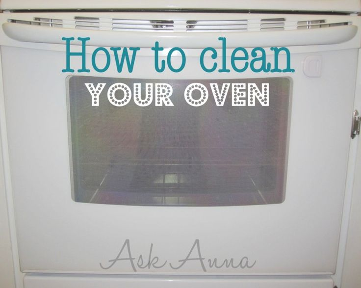 how to clean your oven easy way!