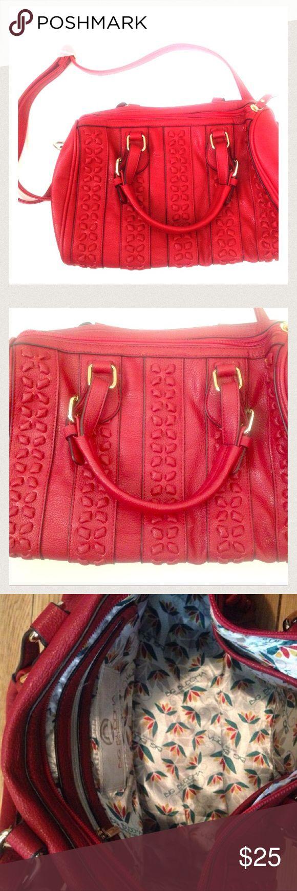Big Buddha bag Big Buddha red handbag. Adjustable strap.can be used as a crossbody or handbag. Never been used. Big Buddha Bags Crossbody Bags