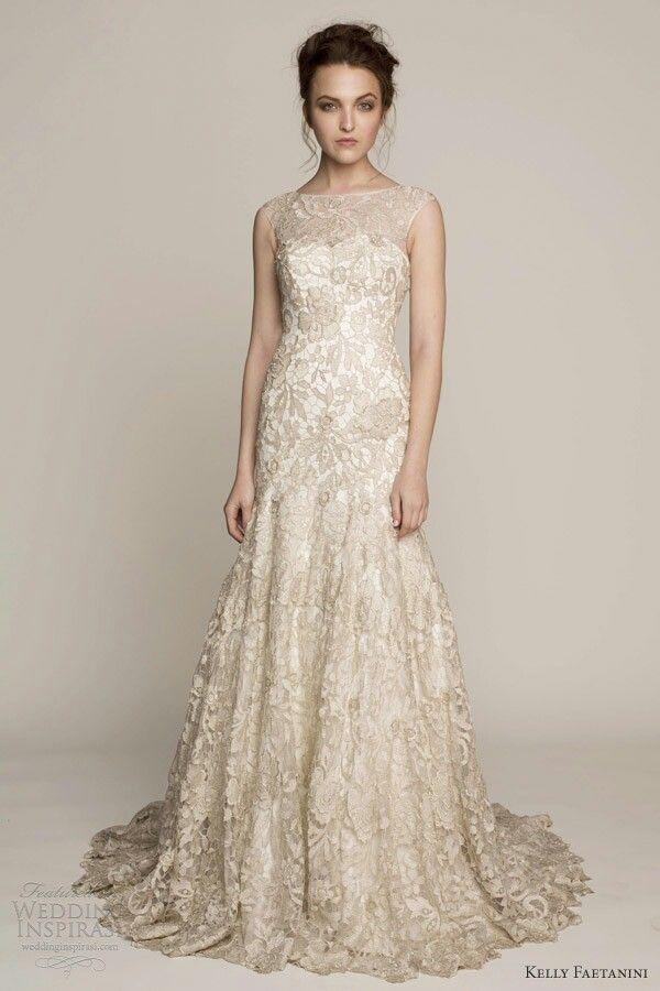 1000  ideas about Cream Wedding Dresses on Pinterest  Strapless ...
