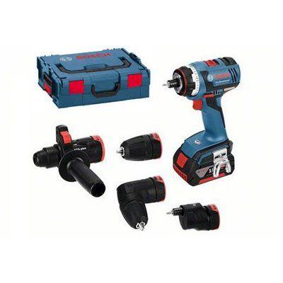 Bosch GDX 18v ec Professional Cordless Impact Wrench 4 0ah X2 L boxx Bundle Set