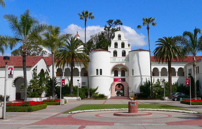 Hepner Hall @ San Diego State University.