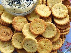 Cocina Sin Gluten: Galletitas Saladas con Queso