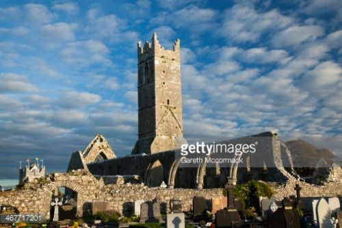 Evening light on the ruins of Claregalway Abbey, a medieval Franciscan friary that dates from the thirteenth century. Claregalway, County Galway, Connacht Province, Republic of Ireland. #claregalway http://dlvr.it/LRHt17
