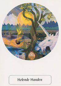 Sjamaan spiegel orakel - Helende Handen - met de juiste zorg zal het nieuwe zaad gaan groeien
