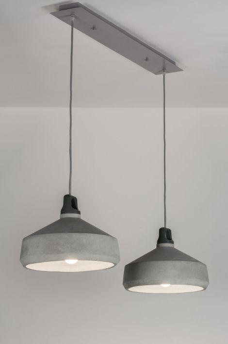 Hanglamp 10354: Modern, Industrie, Look, Rond