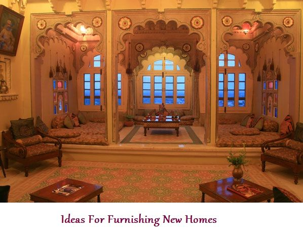 Ideas For Furnishing New Homes
